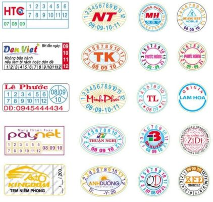 Công ty cung cấp rất nhiều các dịch vụ in ấn Tem nhãn, nhãn mác may mặc